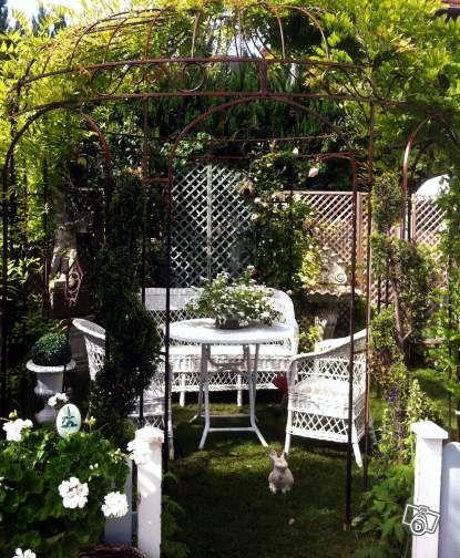 Gloriette - Kiosque de jardin - Fer forgé | deco | Pinterest
