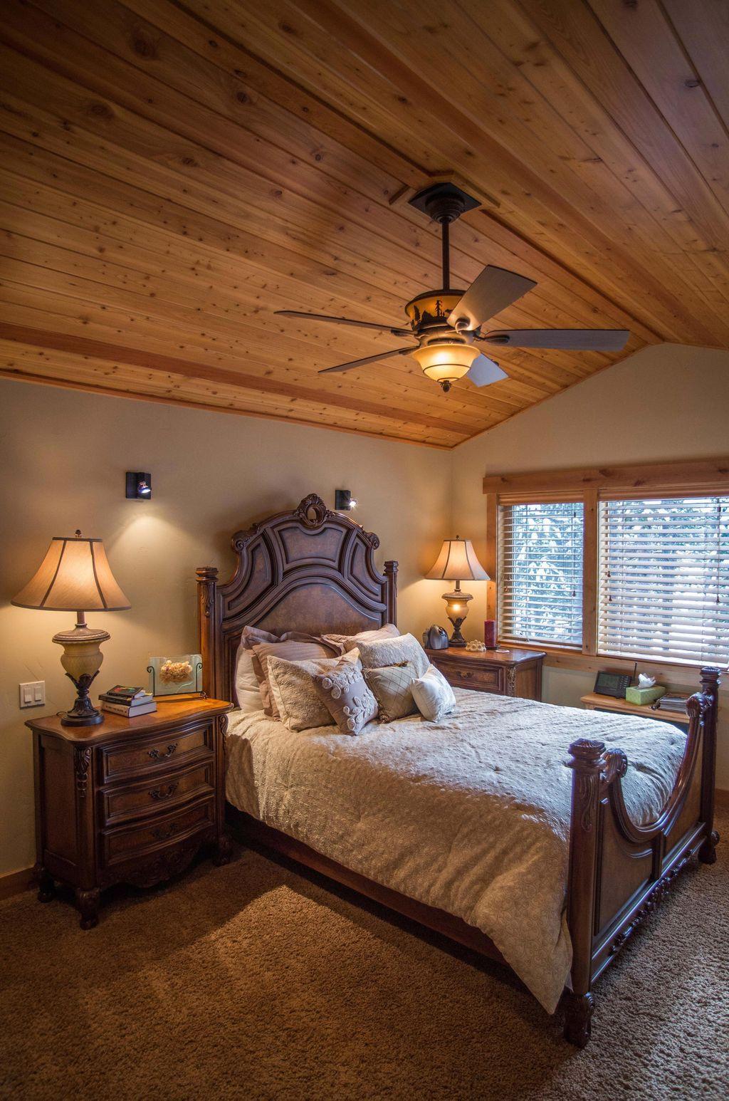 42 romantic rustic farmhouse bedroom design and