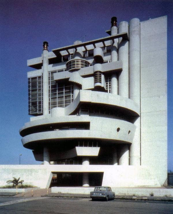 Casa del portuale napoli 1968 1980 arch aldo loris for Casa design napoli