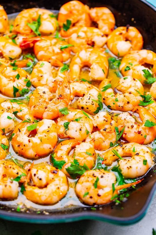 Easy 10-Minute Shrimp Scampi #shrimpscampi