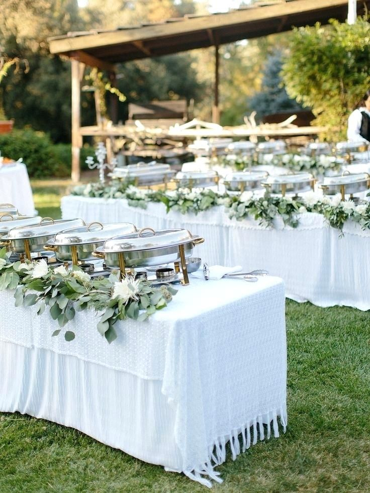 Buffet Table Decor Food Table Decorations For Wedding Receptions Best Ideas About Wedding B Wedding Buffet Wedding Buffet Table Buffet Table Wedding Receptions