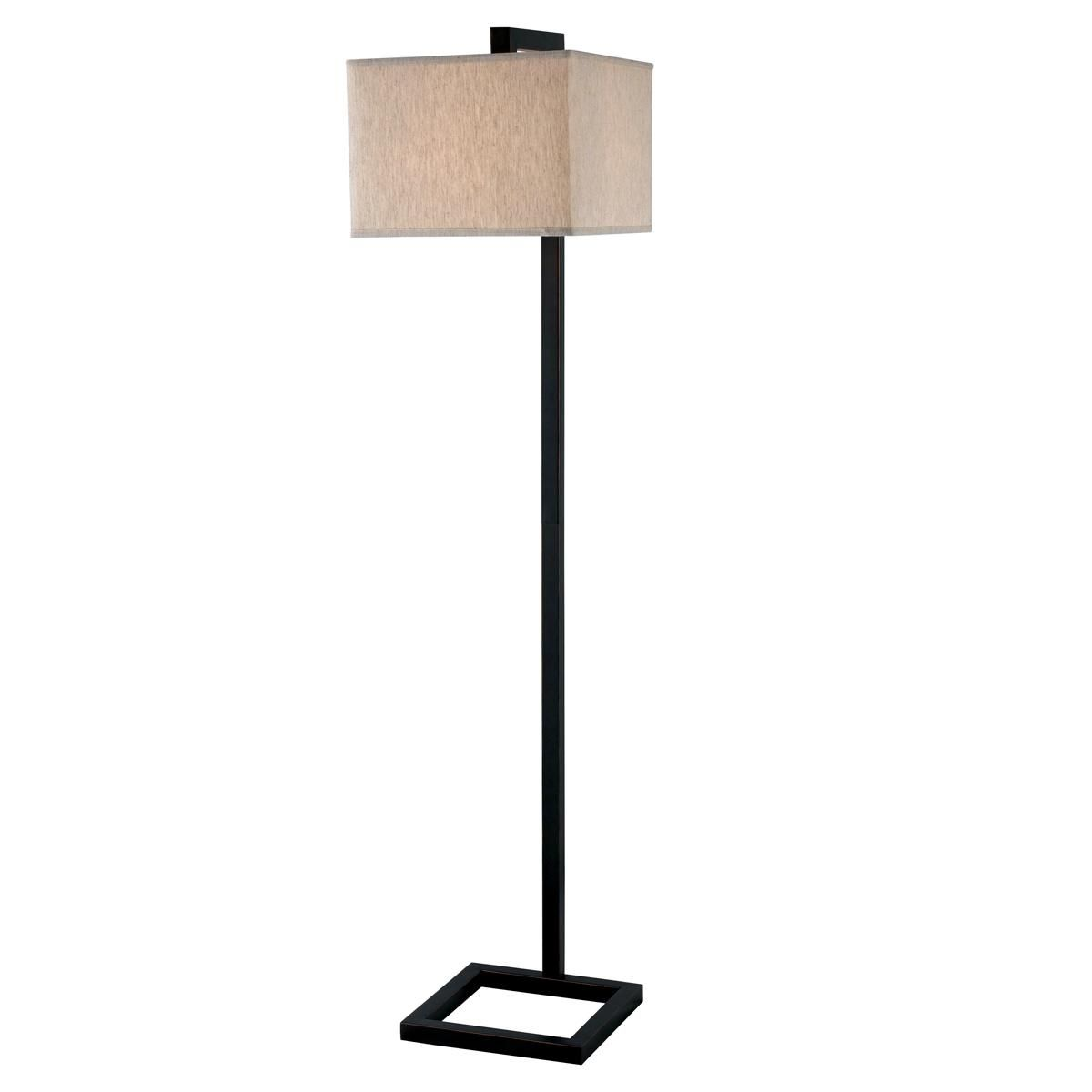 Square frame base floor lamp steel or bronze floor lamp steel and square frame base floor lamp steel or bronze 150w 64hx15x15 shades of light fl13035 bz mozeypictures Image collections