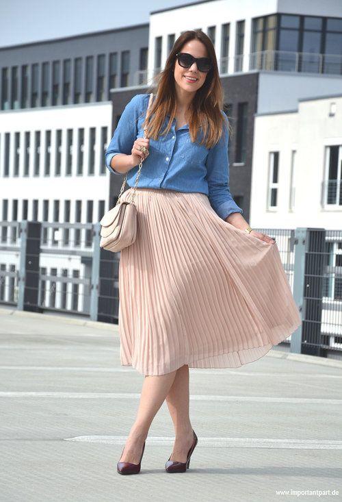 Combinar Falda Plisada Buscar Con Google Modest Fashion Fashion Outfits