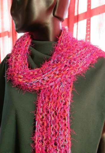 Easy Beginner Garter Stitch Scarf Knitting Pattern Knitting