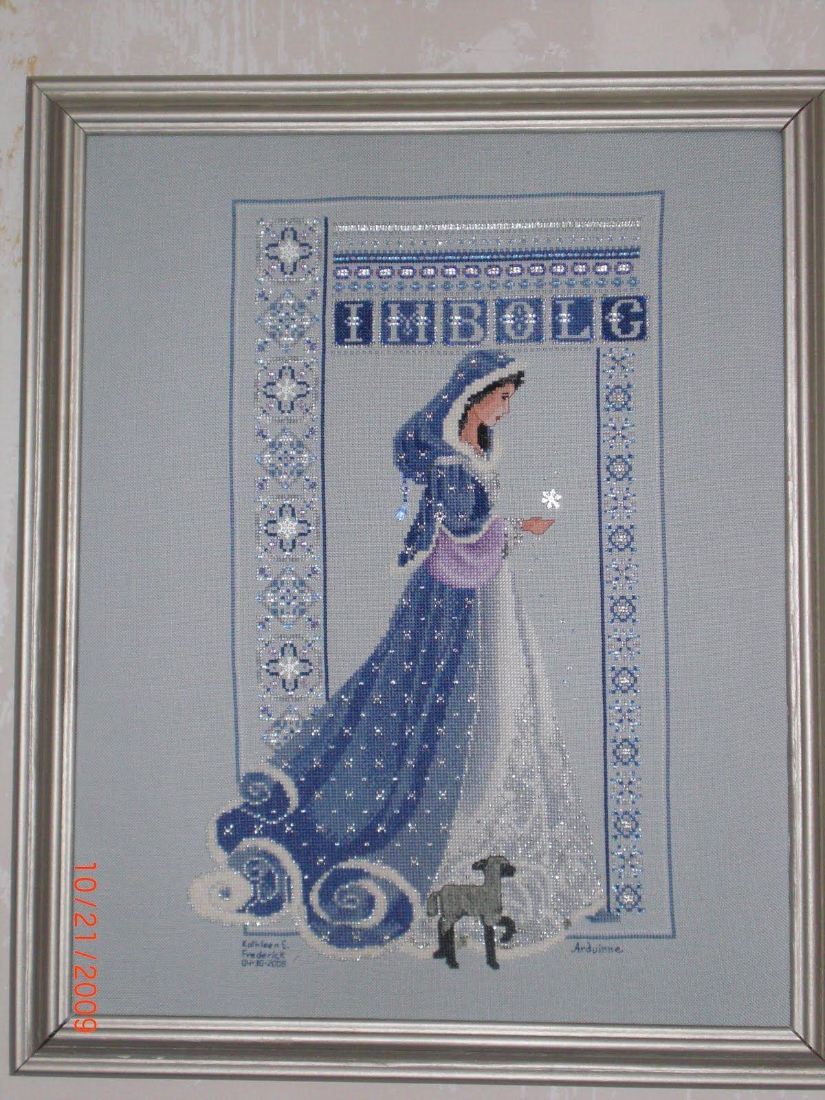 Celtic Lady Sal Imbolc Lavender And Lace Ladies Celtic Cross