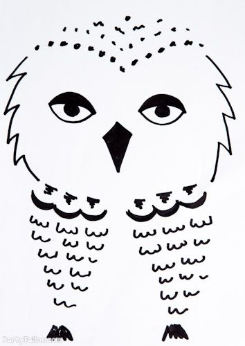 Harry Potter Halloween Owl picture for balloons | My Very ...