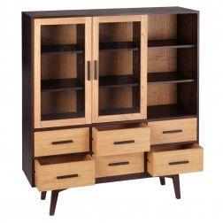 Librer a vitrina estilo n rdico fredd muebles n rdicos en for Muebles nordicos online