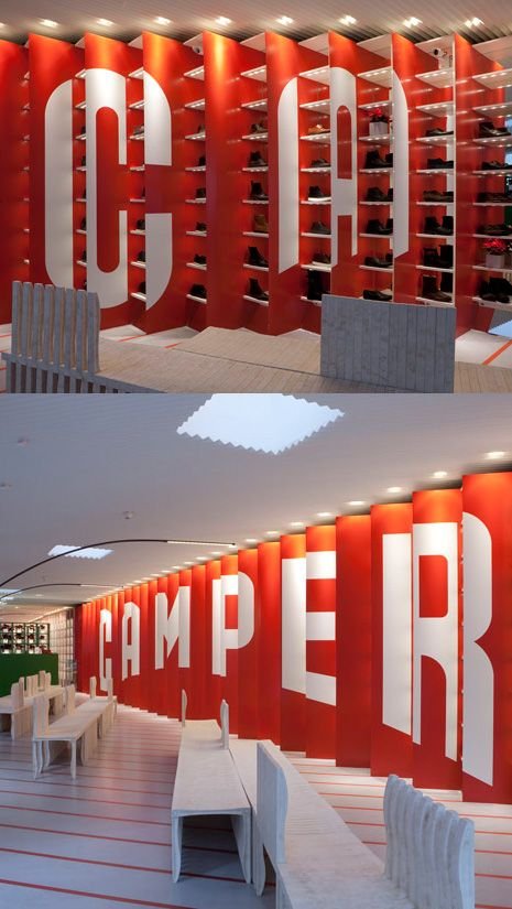 Camper Store, New York // Shigeru Ban - Now you see it, now you dont!