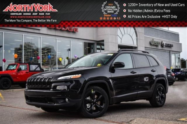 2016 Jeep Cherokee North New Blacked Out Backup Cam Sat Radio B