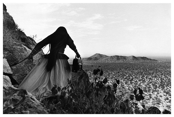 Graciela Iturbide's Angel Woman