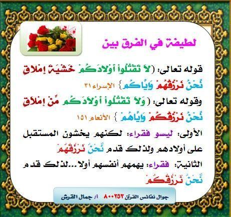 Pin By Khaled Bahnasawy On تأملات في المتشابهات Learn Quran Islam And Science Quran Tafseer