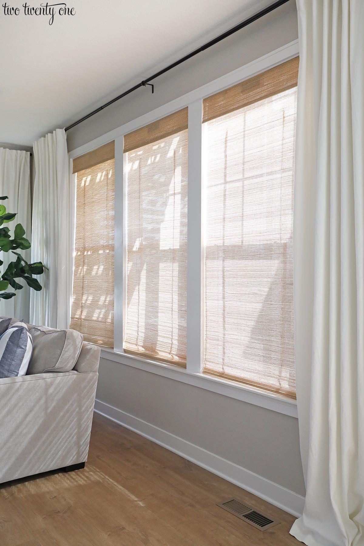 Photo of Budget-Friendly Living Room Window Treatments