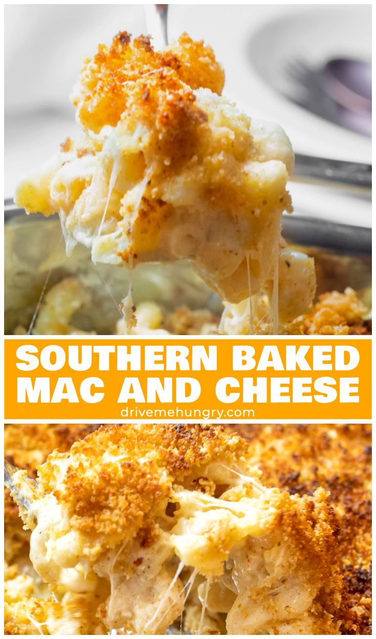 Southern Baked Mac And Cheese With Breadcrumbs Recipe Mac