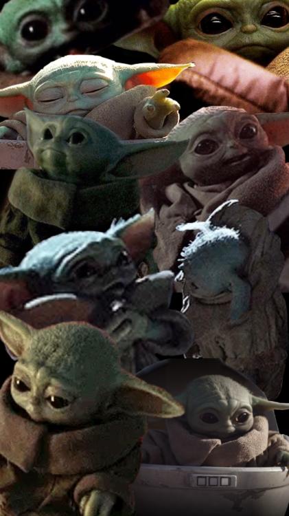 Collage Baby Yoda Yoda Wallpaper Star Wars Wallpaper Yoda Pictures