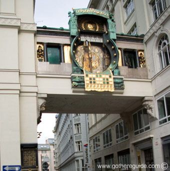 Vienna Ankeruhr Clock | Vienna mechanical clock Ankeruhr Picture, Vienna mechanical clock ...
