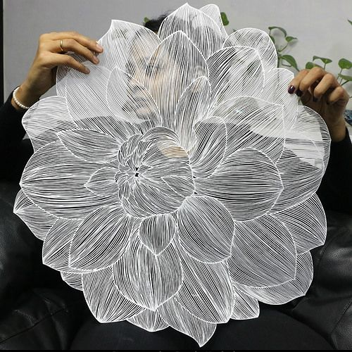 Intricate Paper Cuttings by Parth Kothekar