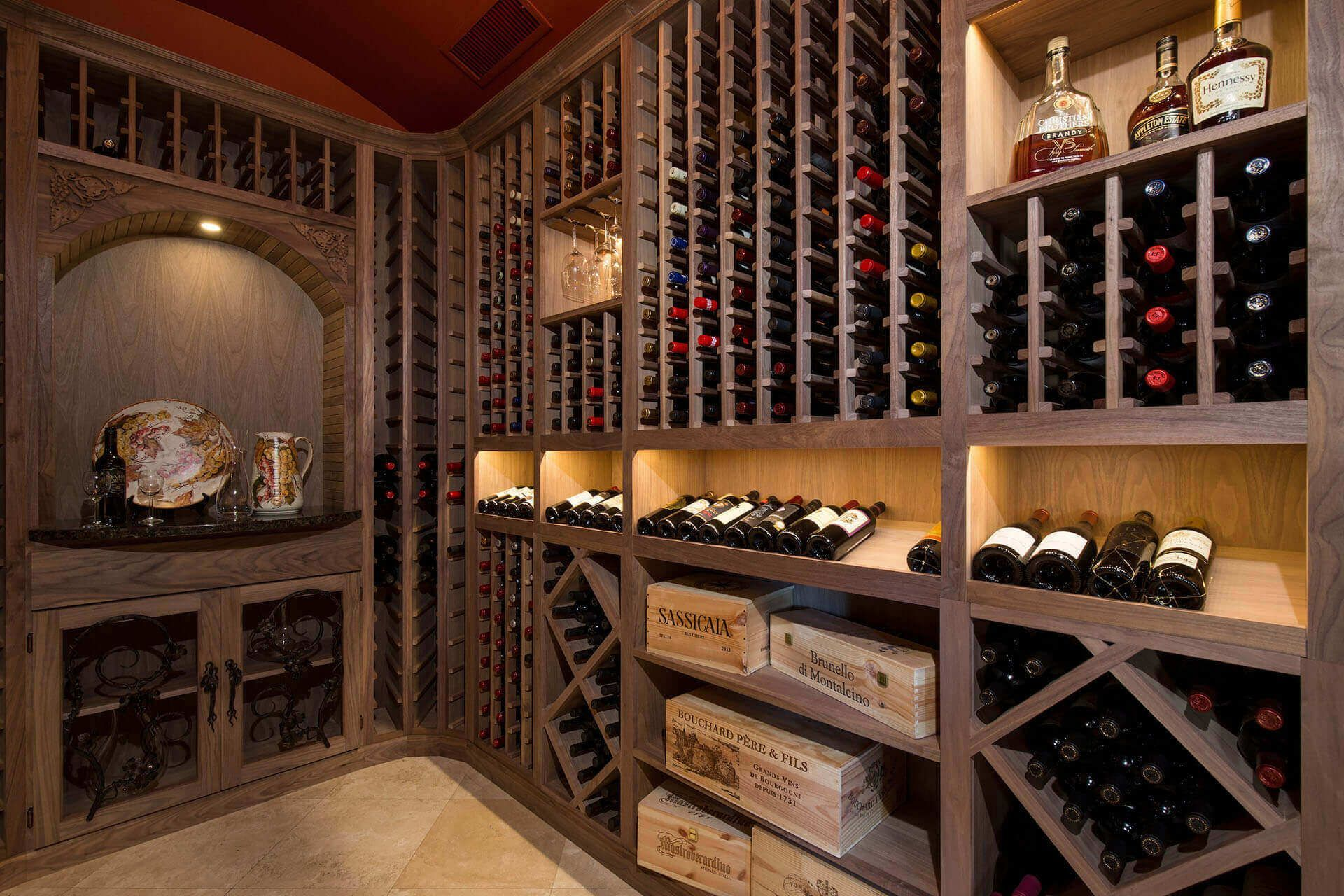 5 Must Haves For Your Custom Wine Cellar Custom Wine Cellars