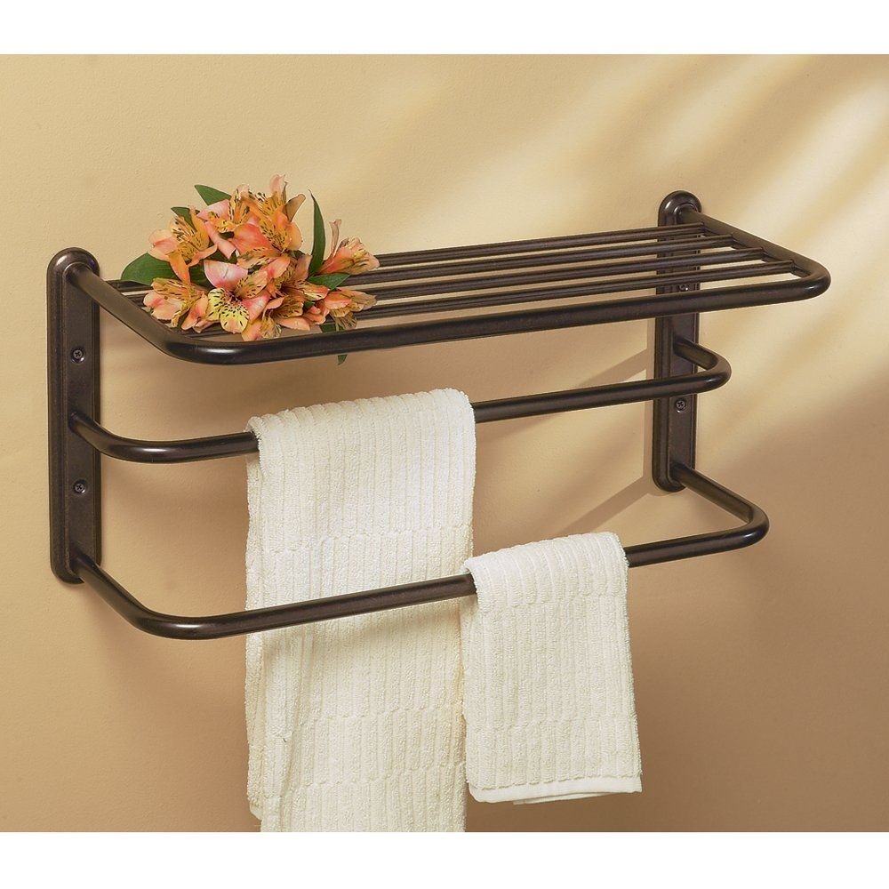 Gatco 1541bz 10 Inch By 20 Inch Towel Rack Bronze Towel Bars Amazon Com With Images Bathroom Towel Bar Hotel Towels