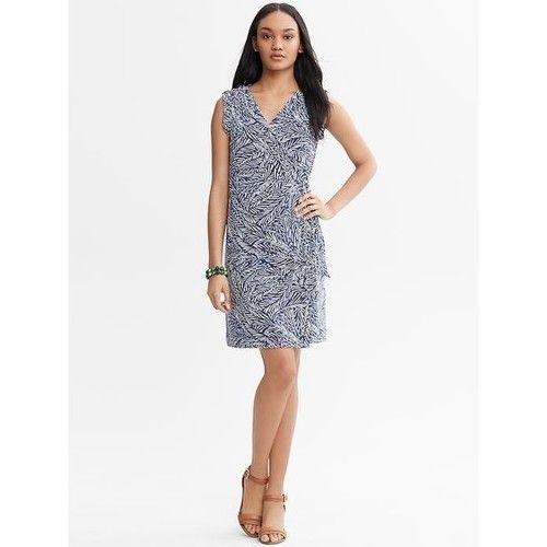 Wrap Dress   Casual Plus Size Dresses, Banana Republic Leaf ...