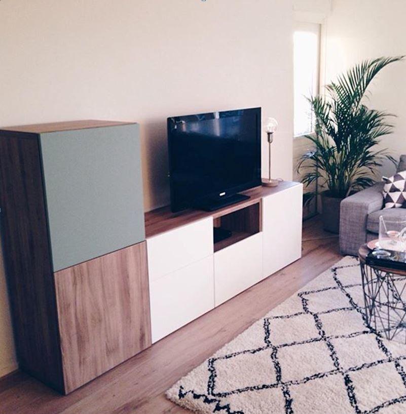 album 4 banc tv besta ikea r alisations clients s rie 1 mur tv salones decoraci n de. Black Bedroom Furniture Sets. Home Design Ideas