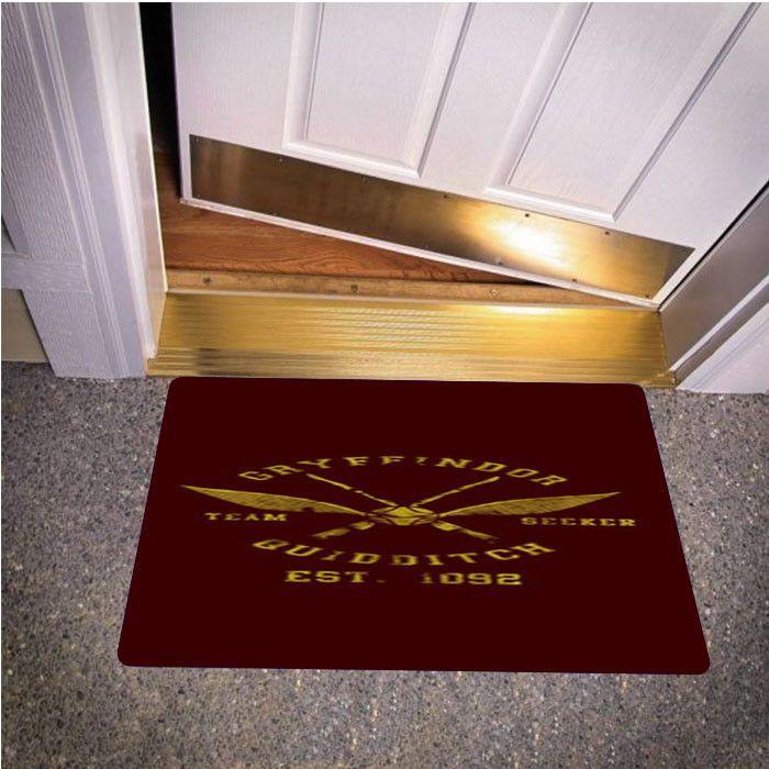 HARRY POTTER GRYFFINDOR QUIDDITCH TEAM CAPTAIN BEDROOM CARPET BATH OR DOORMATS