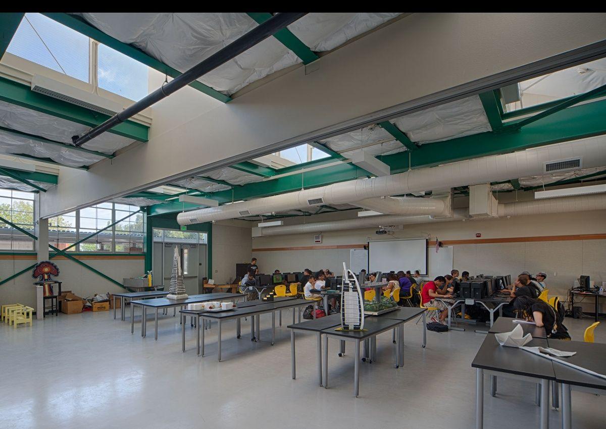 High School Robotics Lab Design