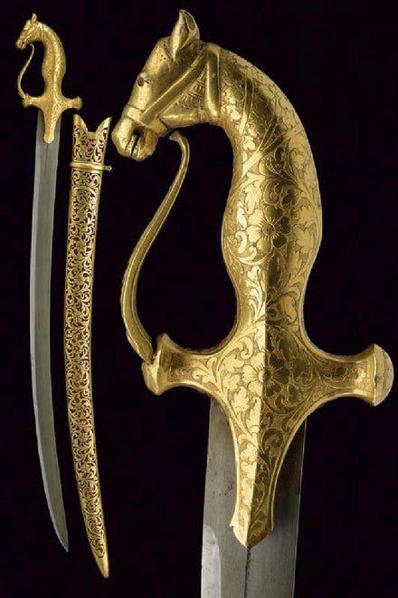 A boy's fine tulvar, dating: Early 19th Century, provenance: Rajasthan, dating: Early 19th Century, provenance: Rajas... on Mar 25, 2017