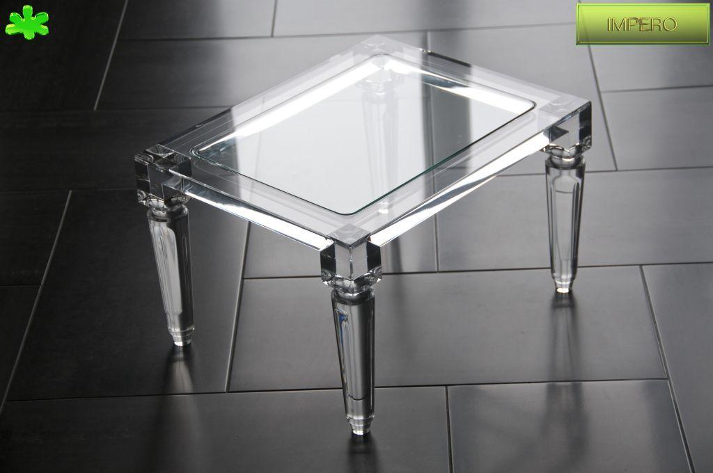 TAVOLINI IN PLEXIGLAS ANGOLARI   Tavolino trasparente in ...