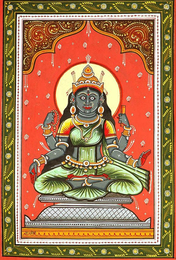 Goddess Bhairavi - The Fierce One (Ten Mahavidya Series)