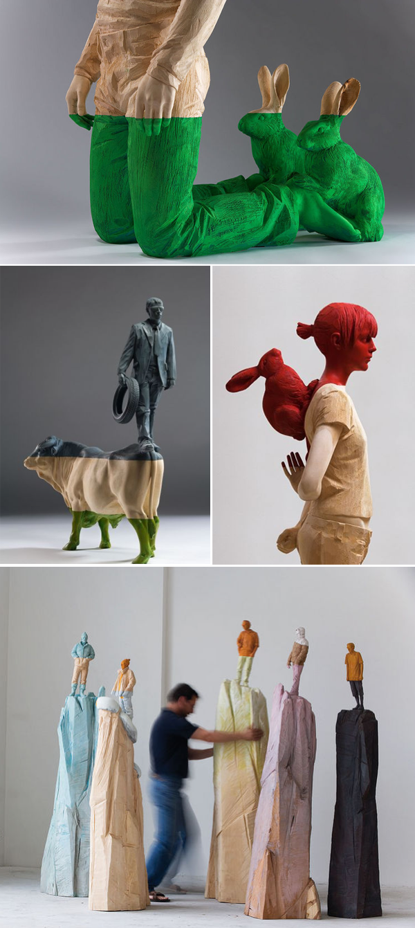 Esculturas de #WillyVerginer. #decoración #decor #arte #art ...