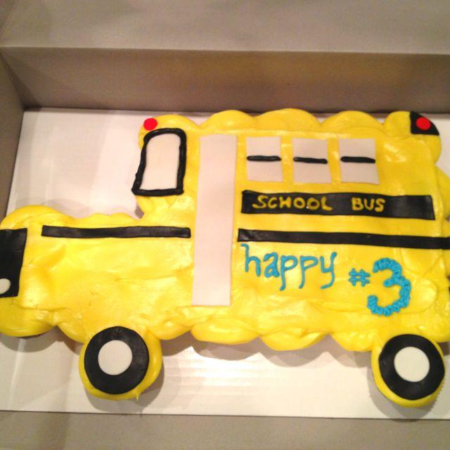 School Bus Cake, Cupcake Cakes
