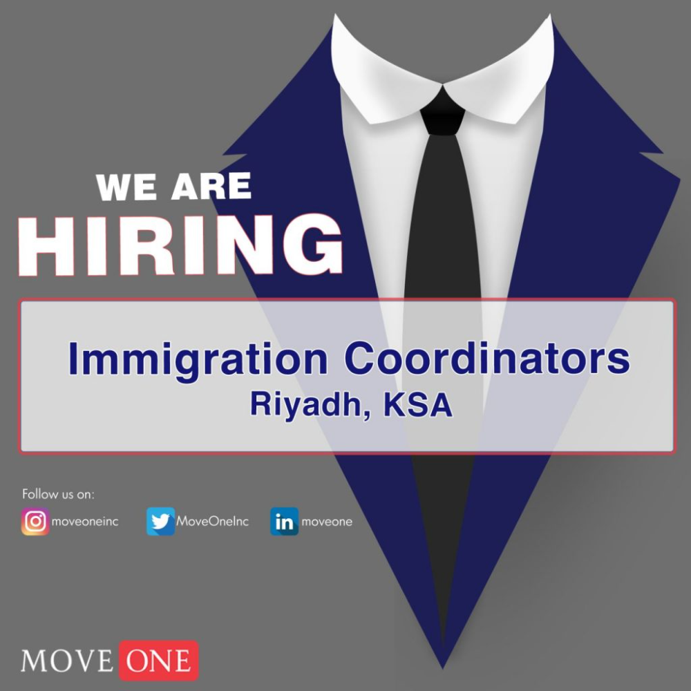 We Are Looking For Experienced Immigration Coordinators Riyadh Saudi Arabia Reporting Directly To The In 2021 Time Management Skills Job Opening Management Skills