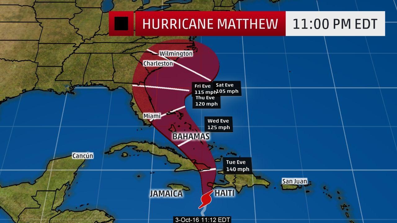 Hurricane Matthew S Catastrophic Haiti Strike Imminent Hurricane Warnings In Cuba And Bahamas Southeast U S Hurricane Matthew Frame Usa Hurricane