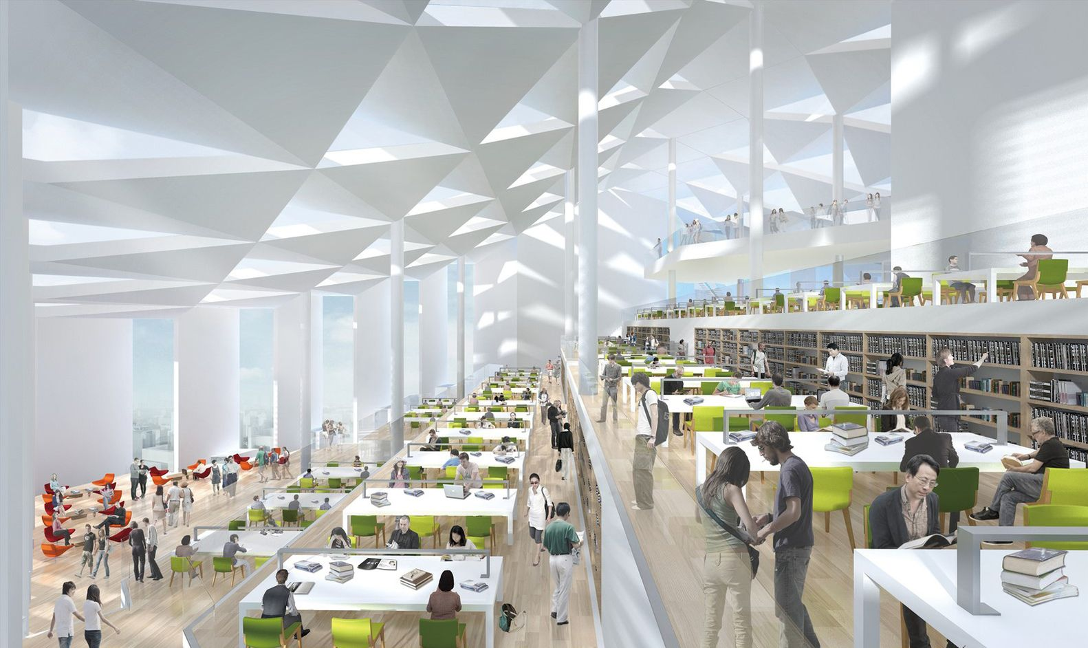 Gallery of Pei Partnership Architects Wins Competition for Nanhai Cultural Center - 12