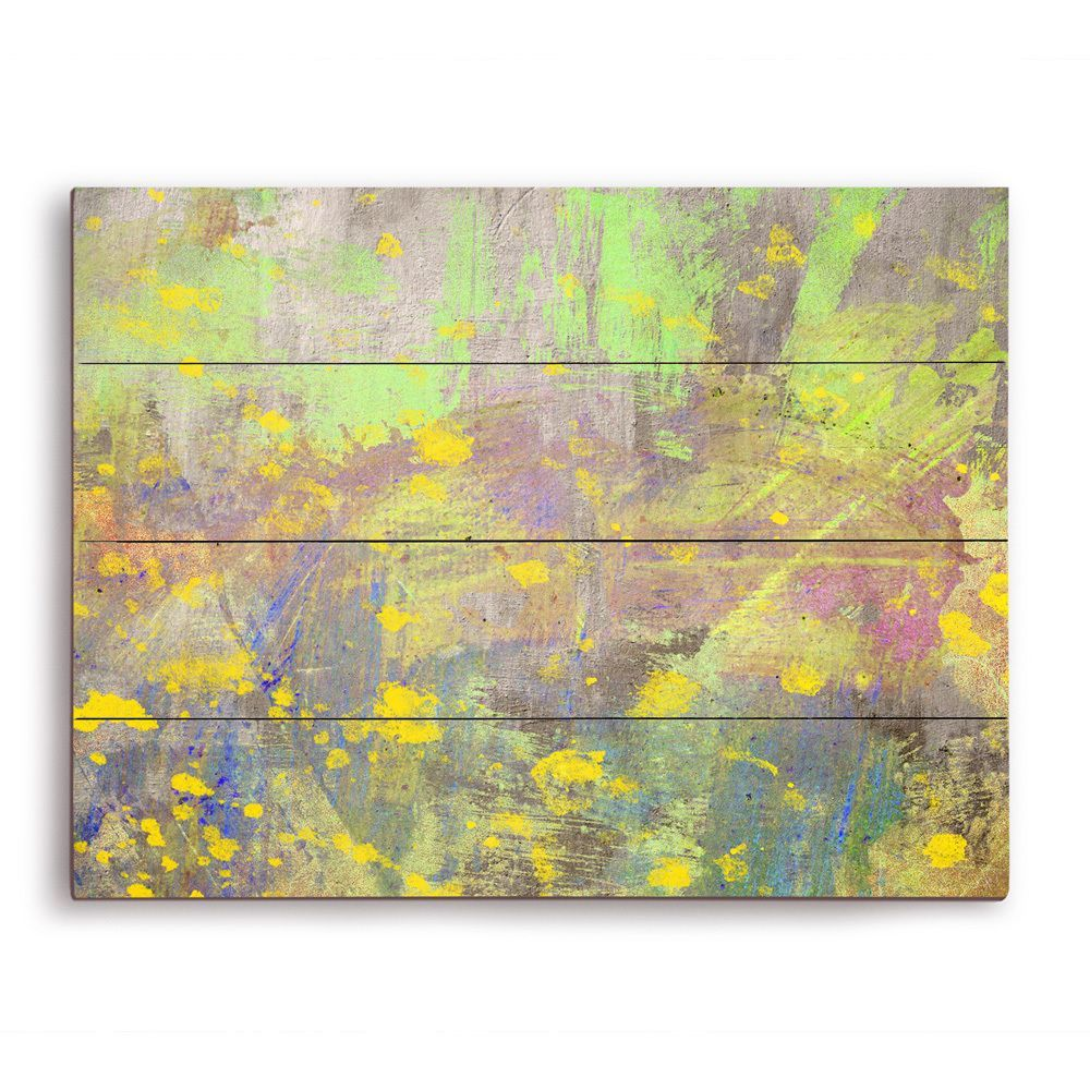 Blossoming Spring\' Graphic on Wood Wall Art | My Work at Horizon ...