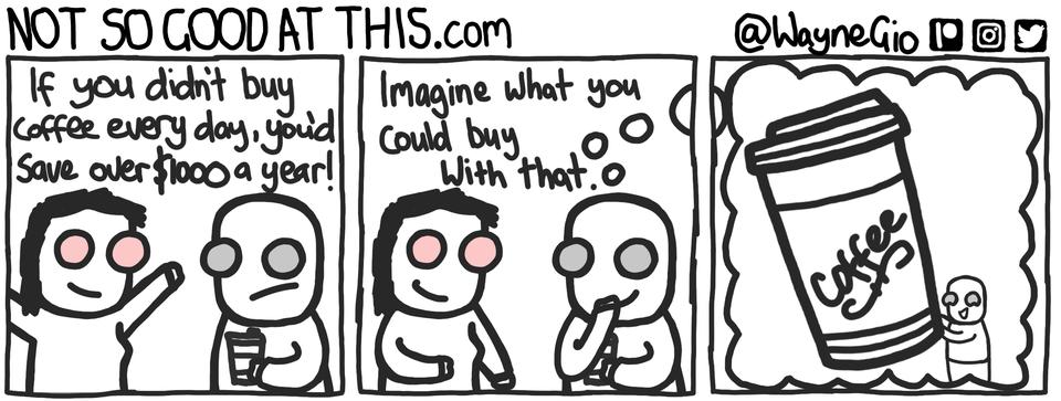 I don't need the money... I tell myself. comics Comics