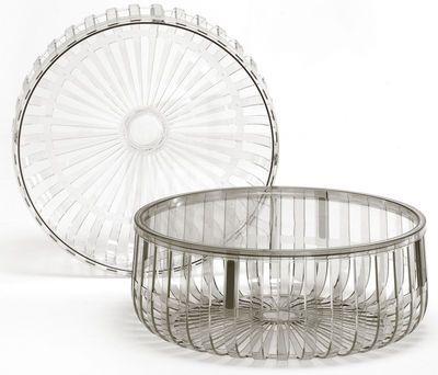 Table Basse Panier Kartell Cristal Made In Design Panier