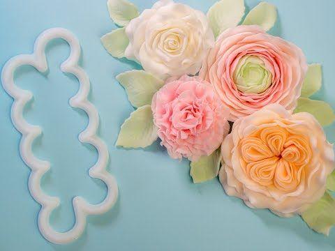 anleitung rose aus bl tenpaste 5 petal ausstecher teil 1 youtube baby torte. Black Bedroom Furniture Sets. Home Design Ideas
