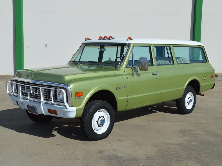 70k mile 1972 chevrolet suburban 4 4 3 4 ton automotive rh pinterest com