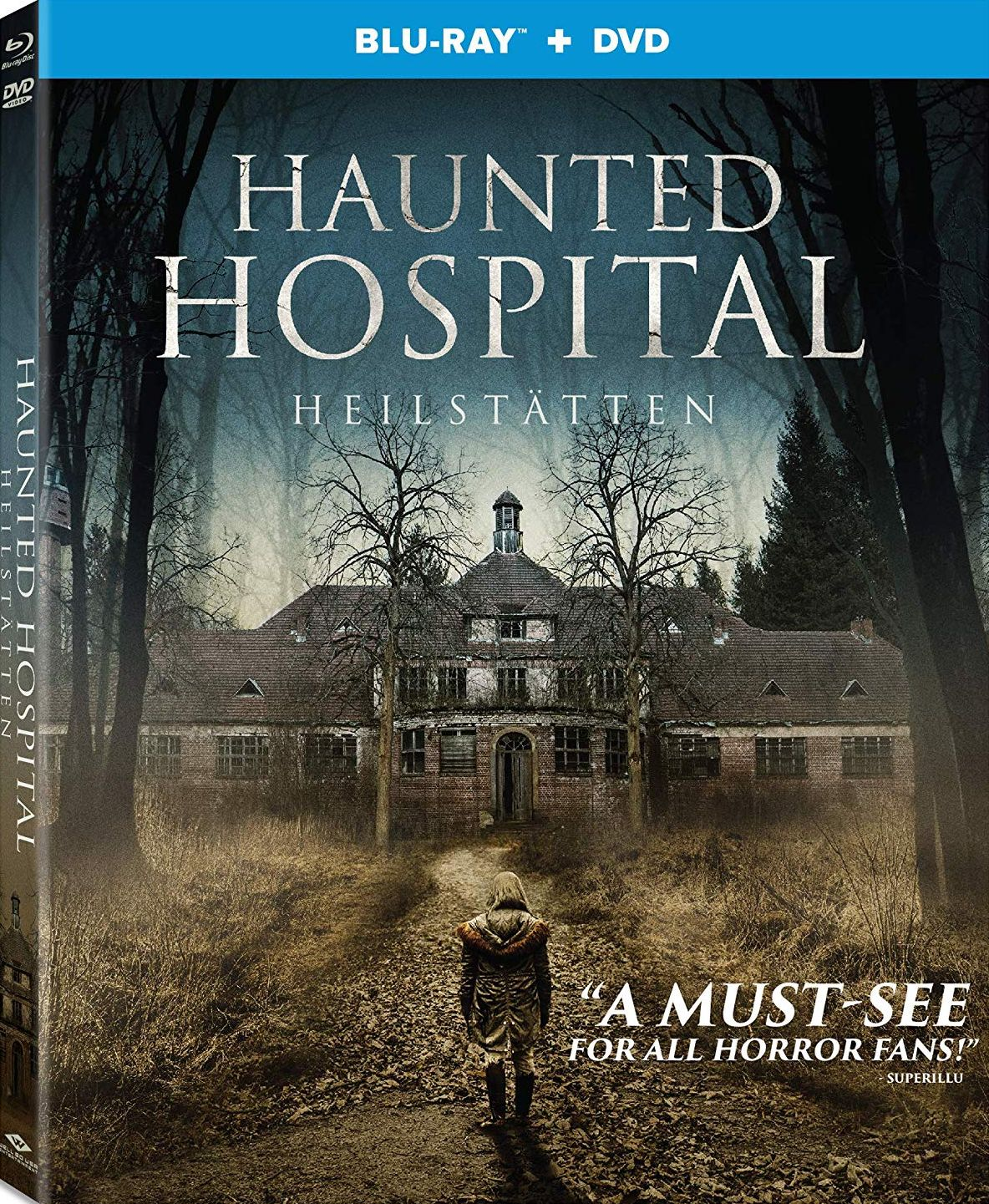 HAUNTED HOSPITAL: HEILSTÄTTEN BLU-RAY (WELL GO USA