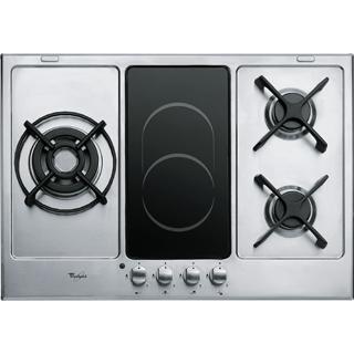 Plaque de cuisson Whirlpool   gaz 3 feux - AKT 759 IX   cuisine ... a8a6c5883322