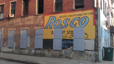 Rosco ghost sign, Over-the-Rhine, Cincinnati