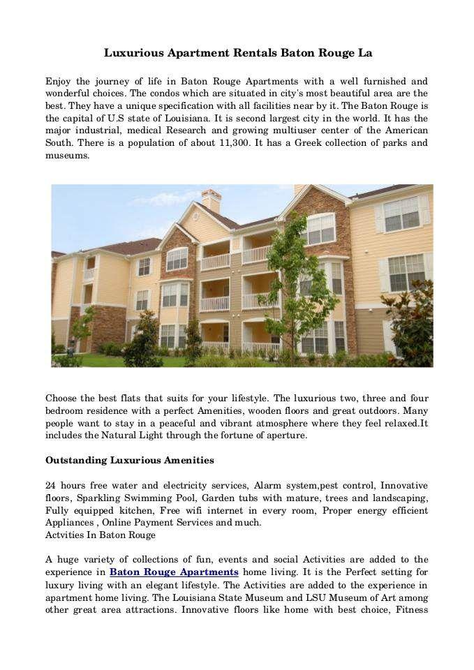 baton #rouge #apartments   Apartments Baton Rouge   Pinterest ...