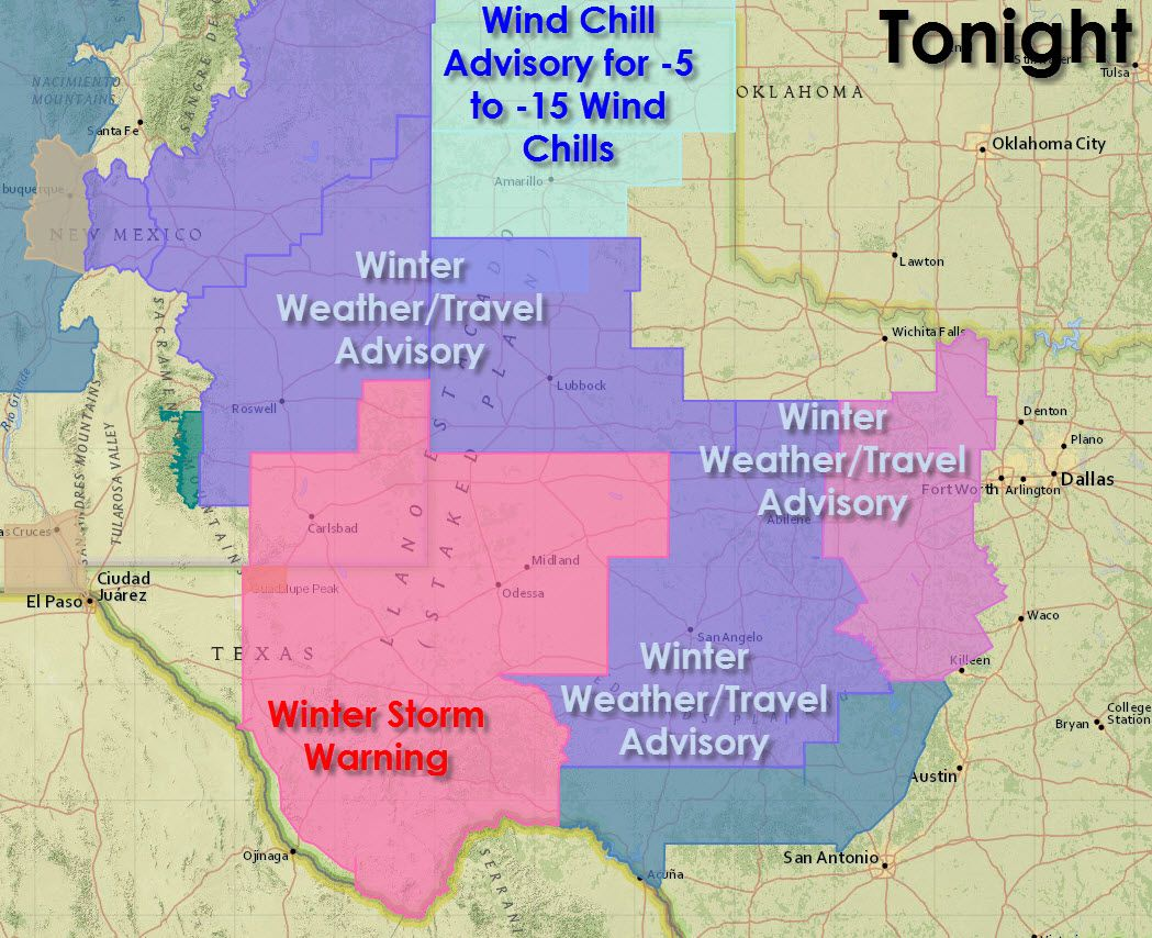 3 30 Pm Winter Weather Update For Texas The Weather Map Is Lit Up