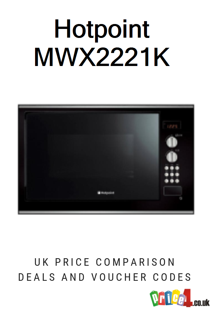 Hotpoint MWX2221K - UK Prices. Hotpoint MWX2221K 24 L 900 W Built-in  Microwave with Grill Black deals and vouchers. | Hotpoint, Built in  microwave, Microwave