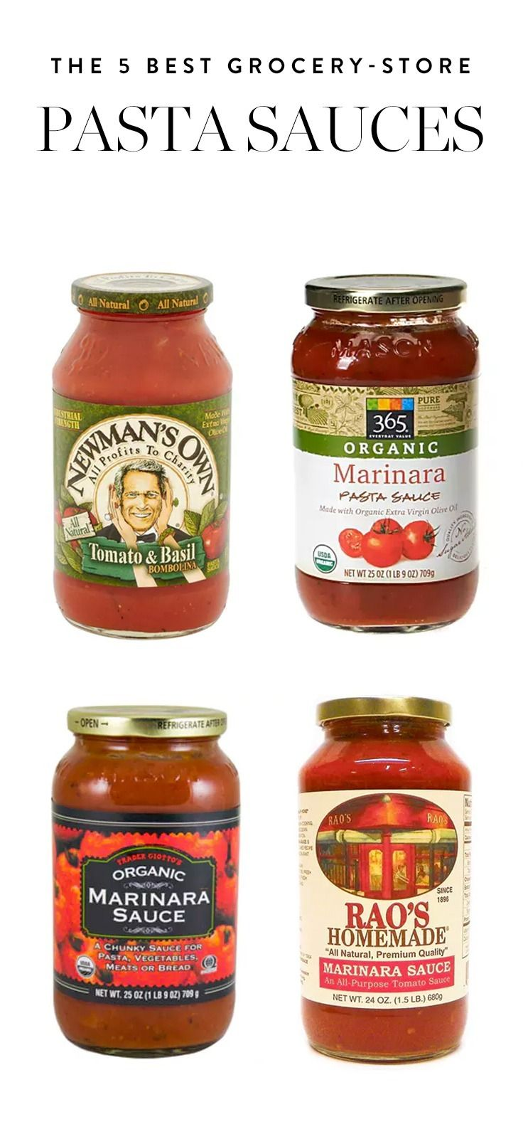 These 5 stellar sauces are doing the heavy lifting for us. Here are our favorite grocery store pasta sauces.