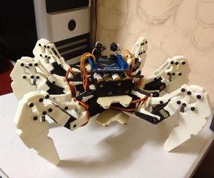 Hexapod Robot Based on FPGA | Tech Stuff | Robot, Robotics