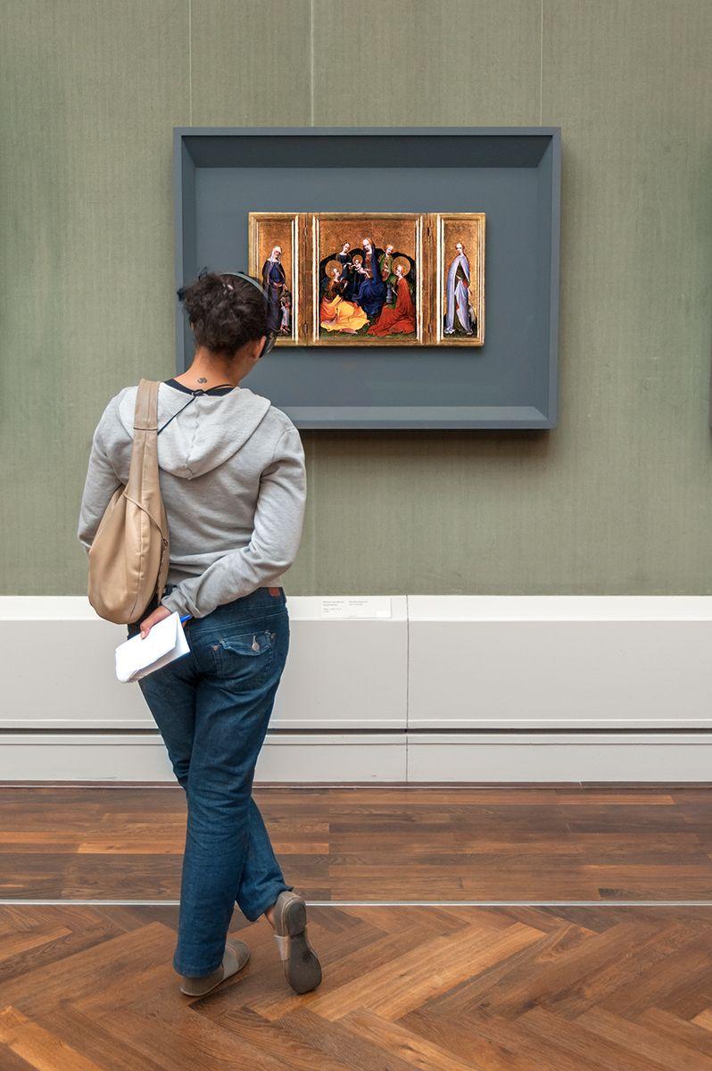Older Holy Kinship Altar, Master of the Gemäldegalerie Berlín