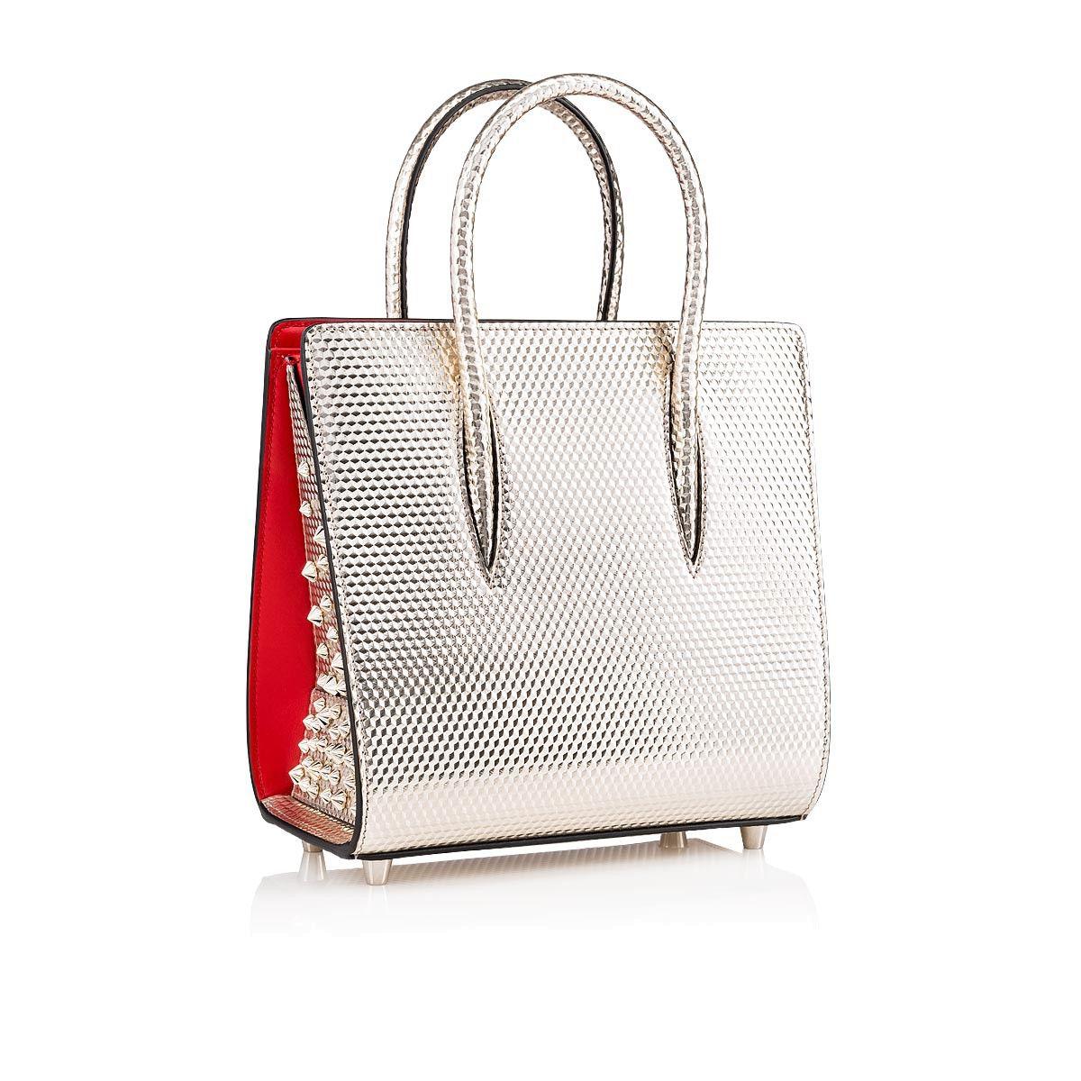 f7c12cabf81 Paloma Small Platine Calf Cubiste - Handbags - Christian Louboutin ...