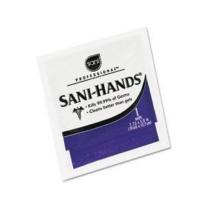 Sanihands Hand Sanitizer Wipes 100 Packets Per Box Visit The